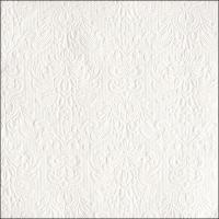 Servietten 40x40 cm - Eleganz Weiß