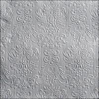 Servietten 40x40 cm - Eleganz Silber