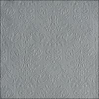 Servietten 40x40 cm - Eleganz Grau