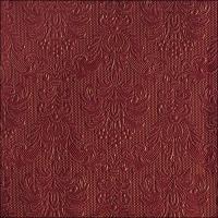 Servietten 40x40 cm - Elegance Bordeaux