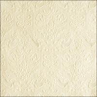 Servietten 40x40 cm - Elegance Pearl Cream