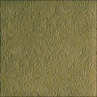 Servietten 40x40 cm - Elegance Olive Green