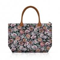 Handtasche - Vintage Flowers Black