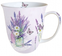 Porzellan-Tasse - Lavender Jar Lilac