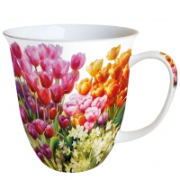 Porzellan-Tasse - Tulips