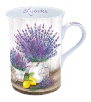 Porzellan-Tasse Lavender