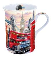 Porzellan-Tasse - London Street