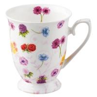 Porzellan-Tasse - Blumenfest