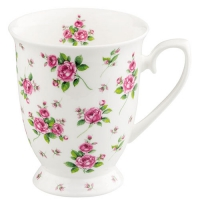 Porzellan-Tasse Evelyn White