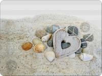 Tischsets - Heart And Stones