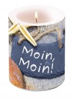Dekorkerze Candle Big Moin Moin