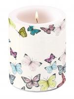 Dekorkerze Candle Big Butterfly