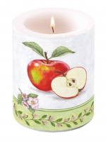Kerze Candle Big Apple Blossom