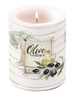 Dekorkerze - Olivengarten