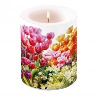 Dekorkerze - Tulips