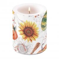 Dekorkerze - Pumpkins & Sunflowers