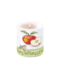 Dekorkerze klein Apple Blossom