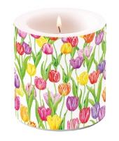Dekorkerze klein - Magic Tulips