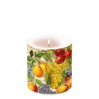 Dekorkerze klein - Autumn Fruit