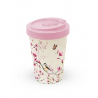 Bamboo mug To-Go -  Bird & Blossom