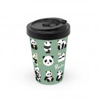 Bamboo mug To-Go - Panda Bears