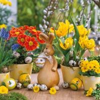 Servietten 33x33 cm - Easter Spring