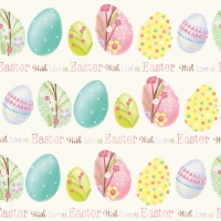 Servietten 33x33 cm - Easter With Love