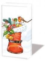 Taschentücher - Weihnachtsstiefel