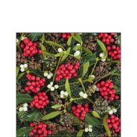 Servietten 25x25 cm - Berries All Over