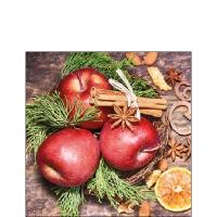 Servietten 25x25 cm - Winter Apples