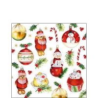 Servietten 25x25 cm - Hanging Ornaments