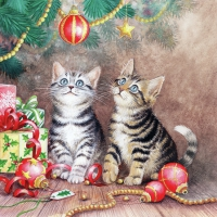 Servietten 25x25 cm - Magic Of Christmas