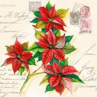 Servietten 33x33 cm - Christmas Greetings