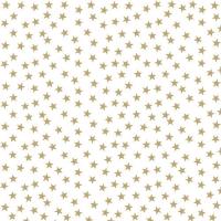 Servietten 33x33 cm - Sterne und Bäume Gold
