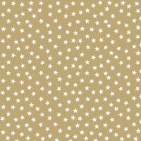 Servietten 33x33 cm - Stars And Trees Gold Neg.