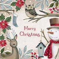 Servietten 33x33 cm - Weihnachtsgrüße