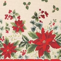 Servietten 33x33 cm - Floral
