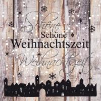 Servietten 33x33 cm - Weihnachtszeit