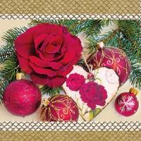 Lunch Servietten Romantic Rose Gold