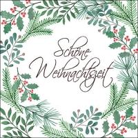 Servietten 33x33 cm - Schöne Weihnachtszeit