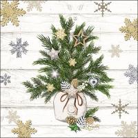 Servietten 33x33 cm - Decorated Branches