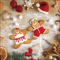Servietten 33x33 cm - Baking Cookies