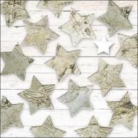 Servietten 33x33 cm - Birch Stars