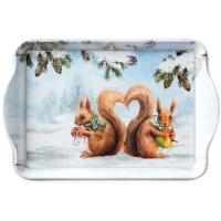 Tablett Squirrel Love