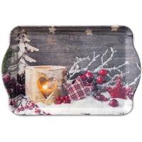 Tablett Birch Candlelight