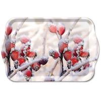 Tablett - 13X21cm Frozen Rosehips