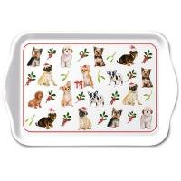 Tablett - Christmas Dogs