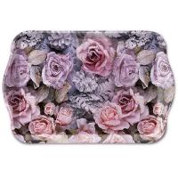 Tablett - Winter Roses