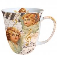 Porzellan-Henkelbecher Mug 0.4 L Angel Faces