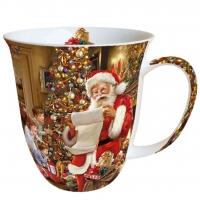 Porzellan-Henkelbecher Mug 0.4 L Christmas Eve